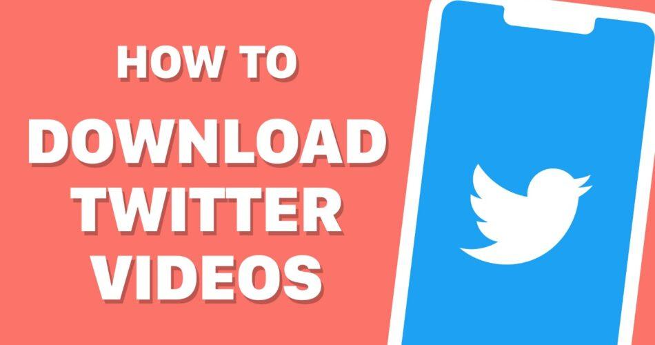 Saving Videos from Twitter