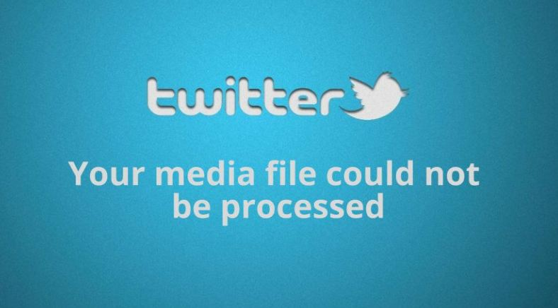 Some of your Media failed to upload Twitter